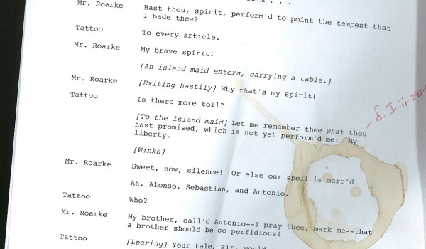 The Perfect (?) Musical Libretto Format - Kieren MacMillan